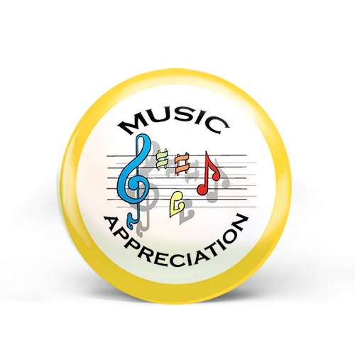 Music Appreciation Badge