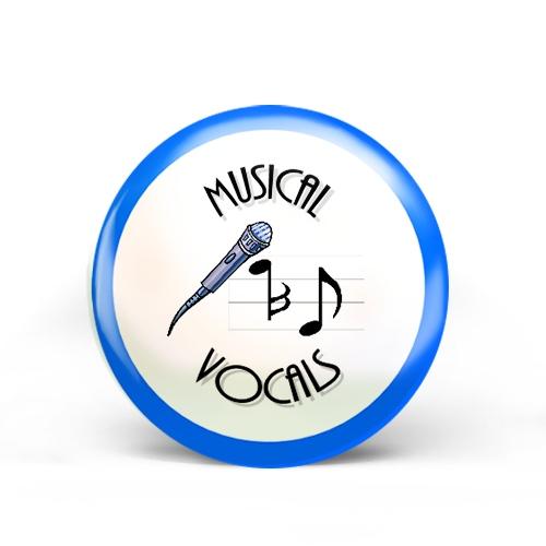 Musical Vocals Badge