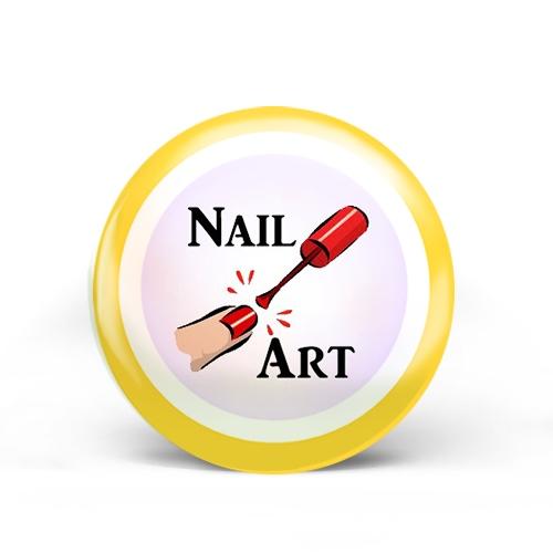 Nail Art Badge