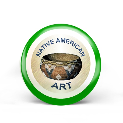 Native American Art Badge