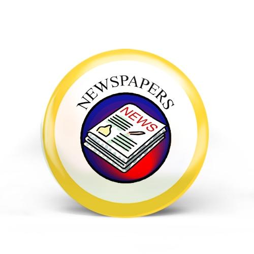 Newspapers Badge
