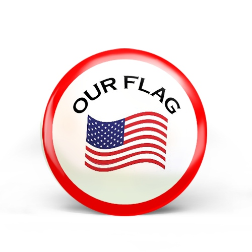 Our Flag Badge