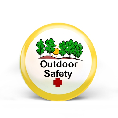 Outdoor Safety Badge