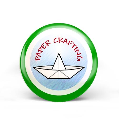 Paper Crafting Badge