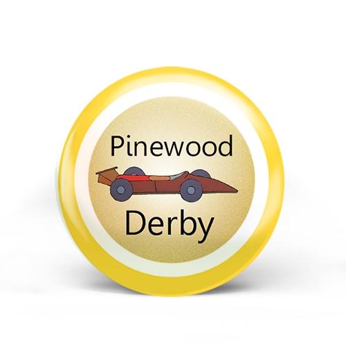 Pinewood Derby Badge