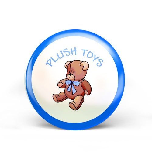 Plush Toys Badge