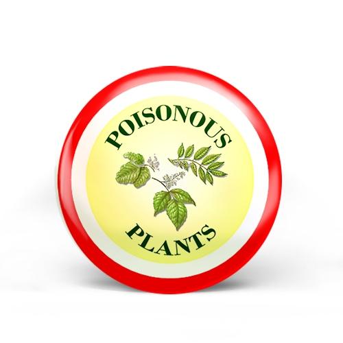 Poisonous Plants Badge