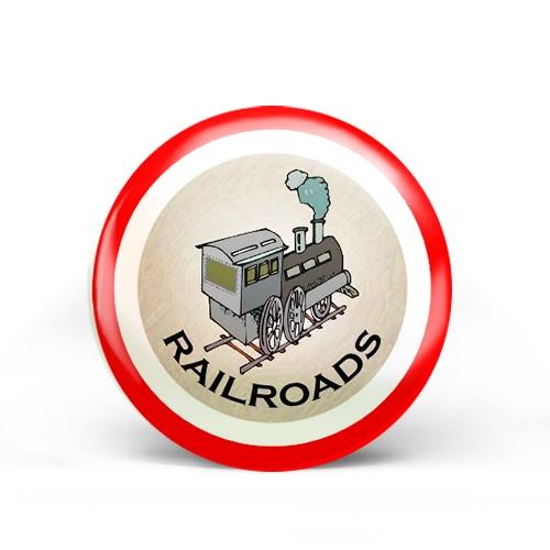Railroads Badge