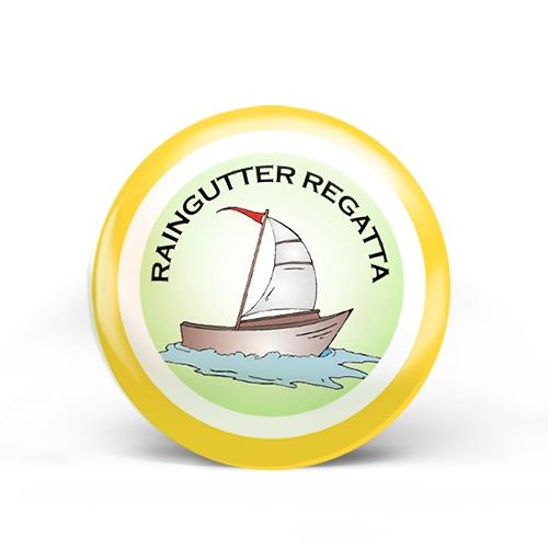 Raingutter Gegatia Badge