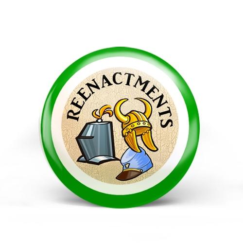 Reenactments Badge