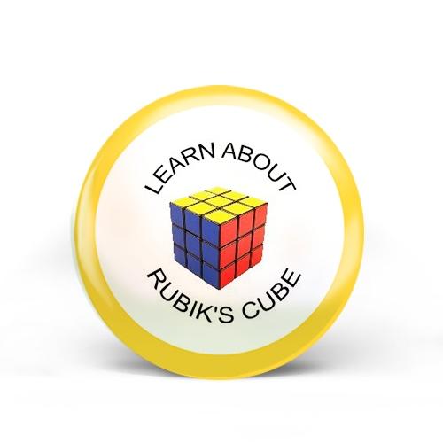 Rubik's Cube Badge