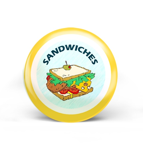 Sandwiches Badge