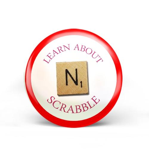 Scrabble Badge