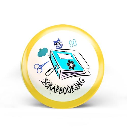 Scrap-Booking Badge