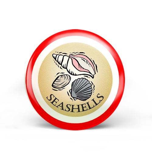 Seashells Badge