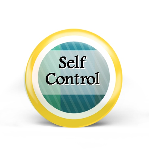Self Control Badge