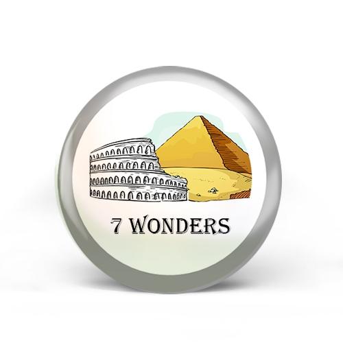 Seven (7) Wonders Badge