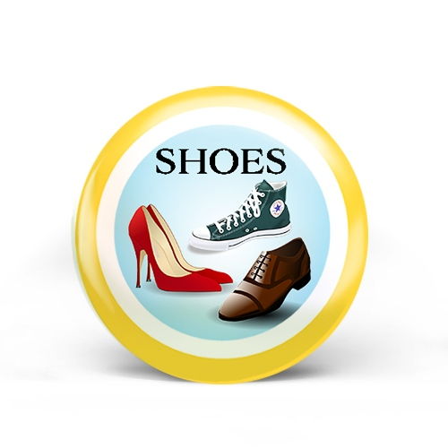 Shoes Badge