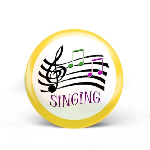 Singing Badge