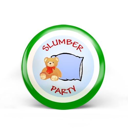 Slumber Party Badge