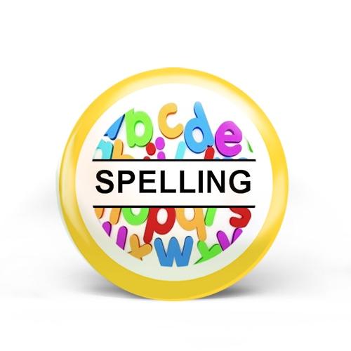 Spelling Badge