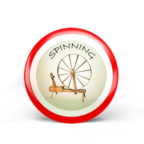 Spinning Badge