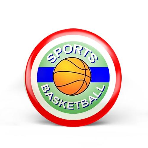 Basketball Sports Badge
