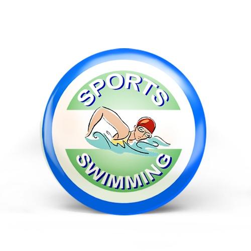 Swimming Sports Badge