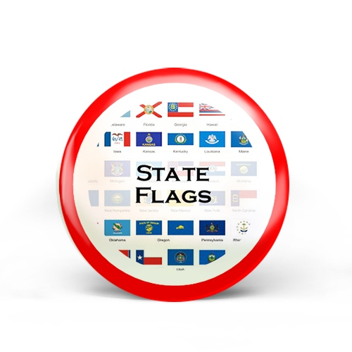 State Flags Badge