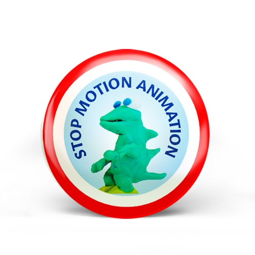 Stop Motion Animation Badge