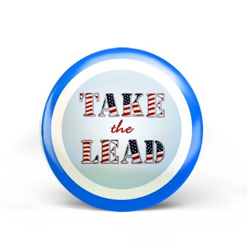 Take The Lead Badge