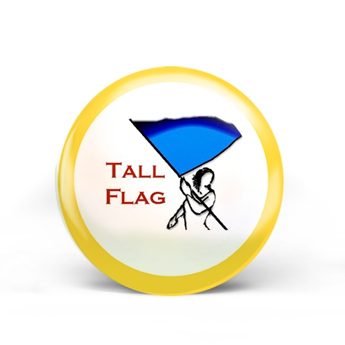 Tall Flags Badge