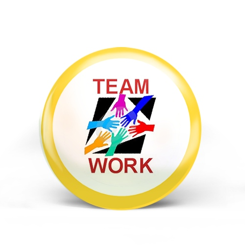 Team Work Badge