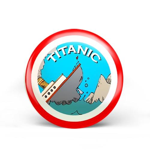 Titanic Badge