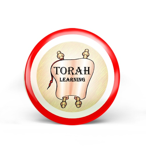 Torah Study Badge