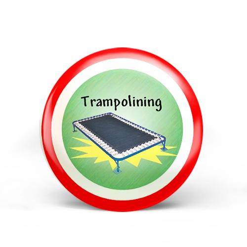 Trampoline Badge