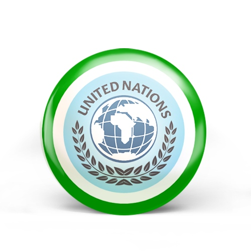 United Nations Badge