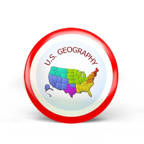 US Geography Badge