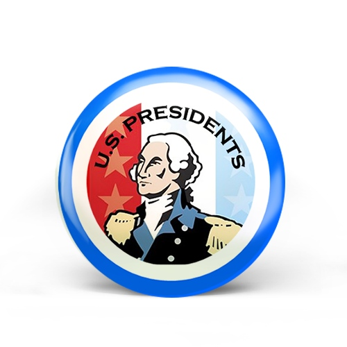 US Presidents Badge