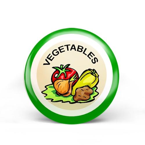 Vegetables Badge