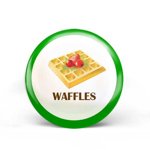 Waffles Badge