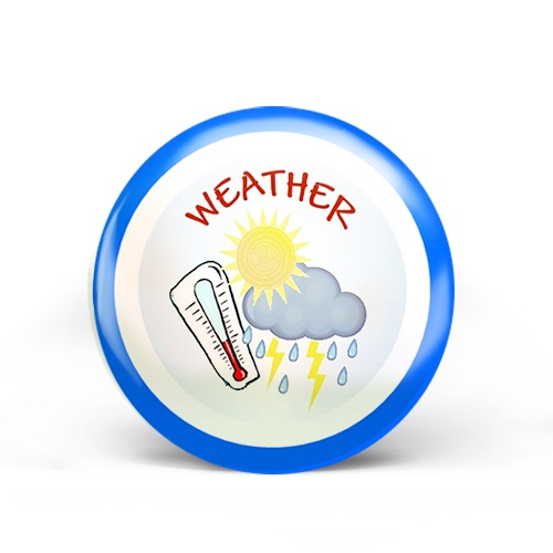 Weather Badge