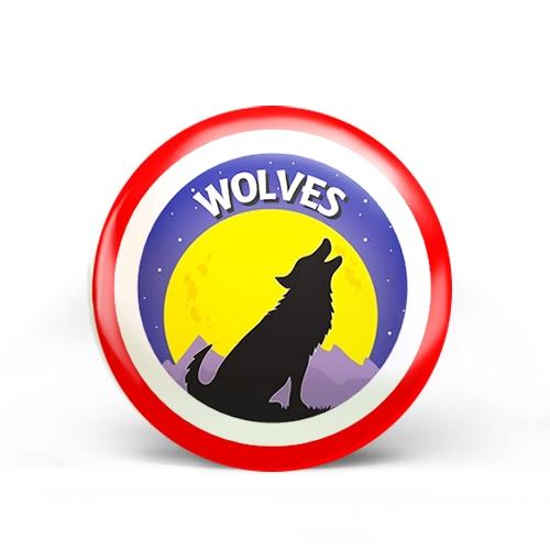 Wolves Badge