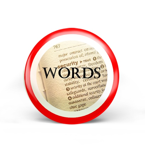 Words Badge