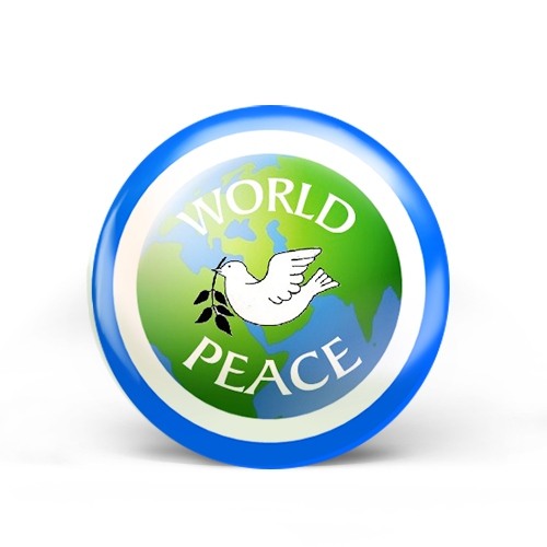 World Peace Badge