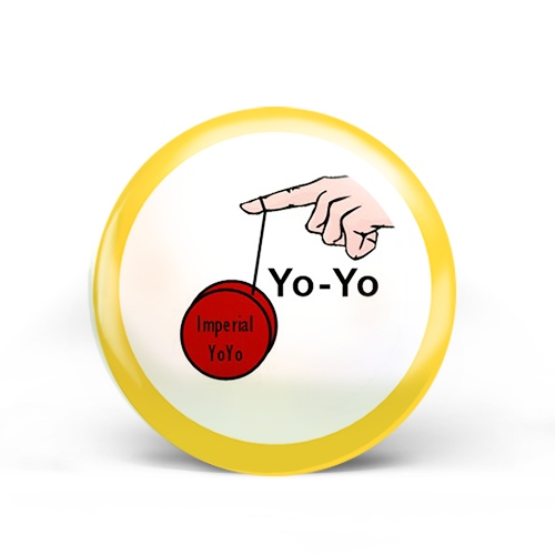 Yo-Yo Badge
