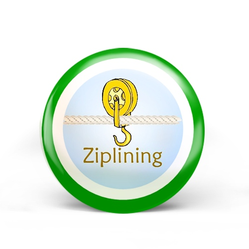 Ziplining Badge