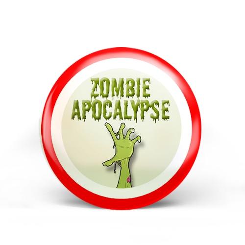 Zombie Apocalypse Badge