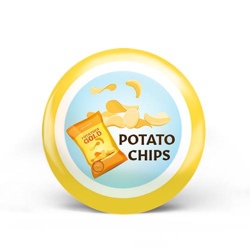 Potato Chips Badge