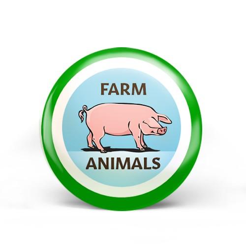 Farm Animals Badge